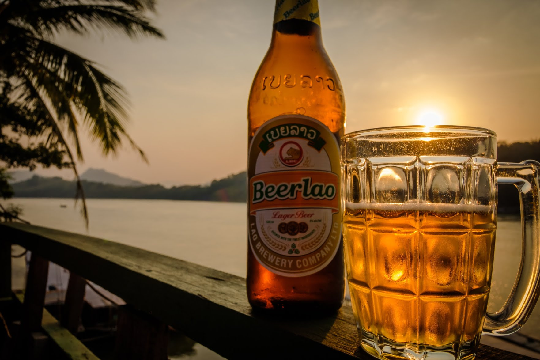 Beer Lao is one of the finest beers in Southeast Asia. Photo: Steve Thomas