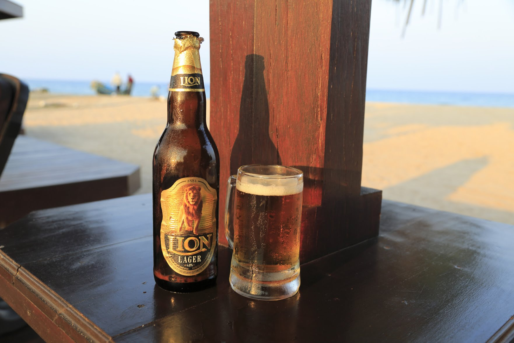 Sri Lanka has some rather good beers, with the Lion brand being a particularly highly regarded lager. Photo: Universal Images Group via Getty Images
