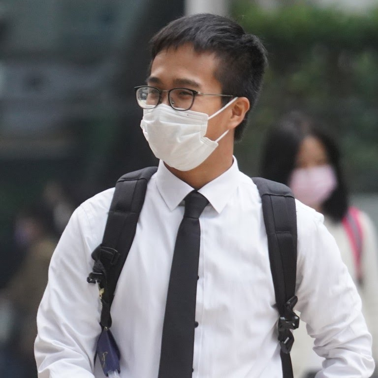 Cheung Chun-ho was also charged with possessing an offensive weapon in a public place after he was found with a laser pointer. Photo: Winson Wong